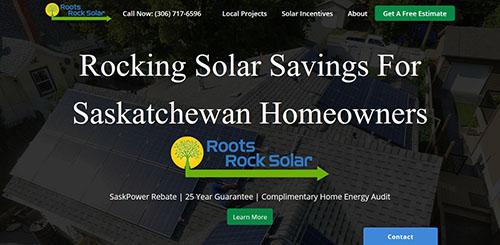 Roots Rock Solar, Saskatoon SK Solar Energy Provider