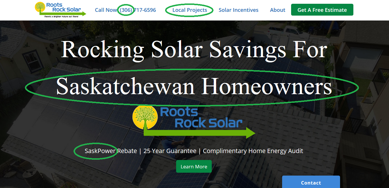 Solar Website Conversions - Local Solar Energy Provider