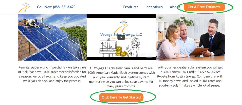 Website Conversions - Solar CTA